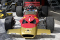 Lotus jarama vintage festival madrid spain the was a formula one racing car designed by colin chapman and maurice philippe Stock Photo