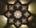 Lotus lamp  Abstract Background Royalty Free Stock Photo