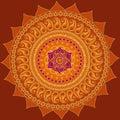 Lotus Mandala Royalty Free Stock Photo