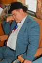 Lou Costello napping  Royalty Free Stock Images
