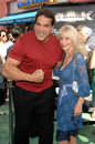 Lou ferrigno at the world premiere of the incredible hulk gibson amphitheatre universal studios universal city ca Stock Photo