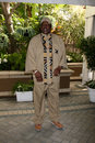 Lou gossett jr arriving at the multicultural luncheon at the four seasons hotel in los angeles ca on february Royalty Free Stock Photos