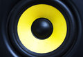 loud speaker close up Royalty Free Stock Photo