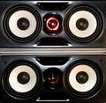 Loud speakers Royalty Free Stock Photo