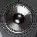 Loudspeaker closeup view professional sound Stock Photo