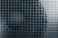 Loudspeaker and grille, as abstract blur background of Power Amp Royalty Free Stock Photo