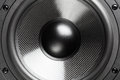 Loudspeaker professional sound closeup view Royalty Free Stock Images