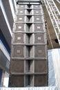 Loudspeaker tower Royalty Free Stock Images
