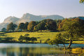 Loughrigg tarn, Cumbria, England Royalty Free Stock Photos