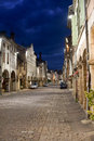 Louhans by night Royalty Free Stock Image