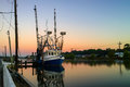 Louisiana Shrimp Boat Royalty Free Stock Photo