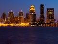 Louisville Skyline Royalty Free Stock Photo