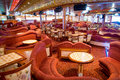 Lounge in the cruise ship
