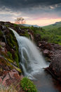 Loup of fintry scotland the waterfall north glasgow Stock Image