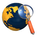 Loupe World Stock Images