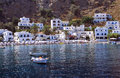 Loutro small village on the south coast of crete island Royalty Free Stock Photo