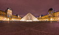 The Louvre Art Museum, Paris. Royalty Free Stock Image