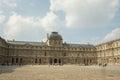 Louvre inner courtyard