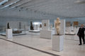 Louvre lens exposition the most visited museum in the world in paris france has open an annex in in the north of france view of Stock Photos