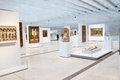Louvre lens exposition the most visited museum in the world in paris france has open an annex in in the north of france view of Royalty Free Stock Photos