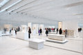 Louvre lens exposition the most visited museum in the world in paris france has open an annex in in the north of france view of Royalty Free Stock Images