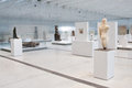 Louvre lens exposition the most visited museum in the world in paris france has open an annex in in the north of france view of Stock Photo
