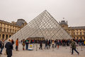 Louvre Museum Paris. Royalty Free Stock Photo