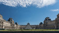 The Louvre Palace Royalty Free Stock Photo