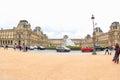 Louvre Palace Royalty Free Stock Photo