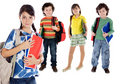 Lovables students childrens Royalty Free Stock Photo