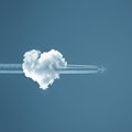Love is in the air Royalty Free Stock Photo