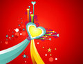 Love background illustration Stock Images