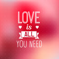 Love background quote romantic typographic about for inspiration Royalty Free Stock Photo