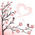 Love birds Stock Image