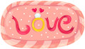Love board Royalty Free Stock Image