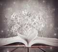 Love for book Royalty Free Stock Photo