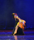 Love cannot extricate oneself-The dance drama The legend of the Condor Heroes Royalty Free Stock Photo