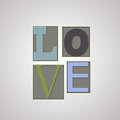 Love card template for design Royalty Free Stock Photo