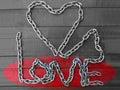 Love chain Royalty Free Stock Photo