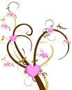 Love Cherry Blossom Tree