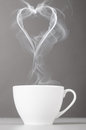 Love and coffee Royalty Free Stock Photo