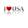 Love country america Royalty Free Stock Photo