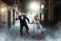 Love Couple Wedding, Night Pho...