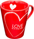Love Cup Royalty Free Stock Photo