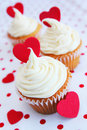 Love cupcake Stock Image