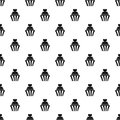 Love cupcake pattern vector