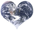 Love for earth Royalty Free Stock Photos