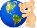 Love Earth Bear Royalty Free Stock Photography