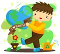 Love earth boy the who Stock Images