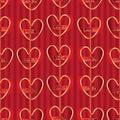 Love English vertical hang seamless pattern